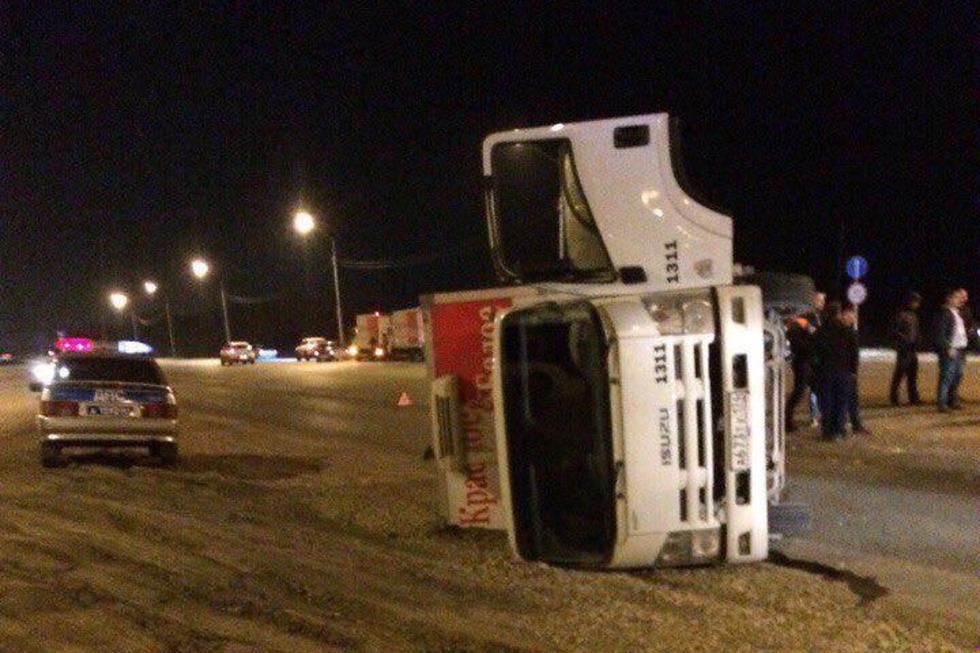 В аварии на кольцевой автодороге пострадали пять человек