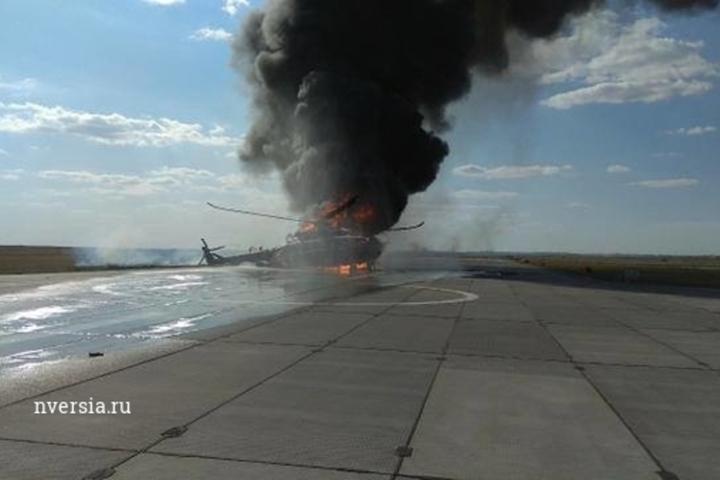 Зацепил лопастями полосу. Экипаж отправлен в госпиталь подробности ЧП с Ми-8 в Саратове
